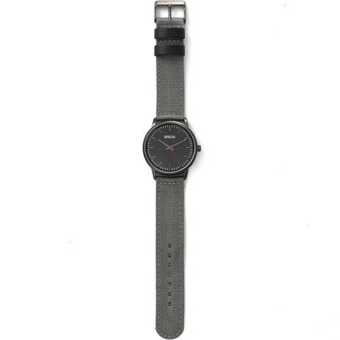 Breda Watches Valor Watch | Gunmetal/Gray 1707a