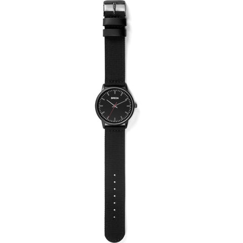 Breda Watches Valor Watch | Black/Black 1707c