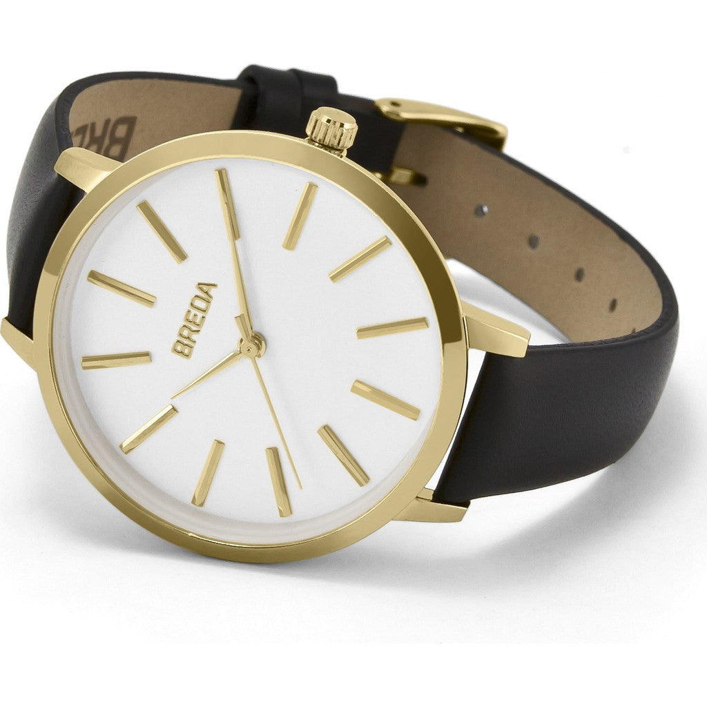 Breda Watches Joule Watch | Gold/Black 1722a