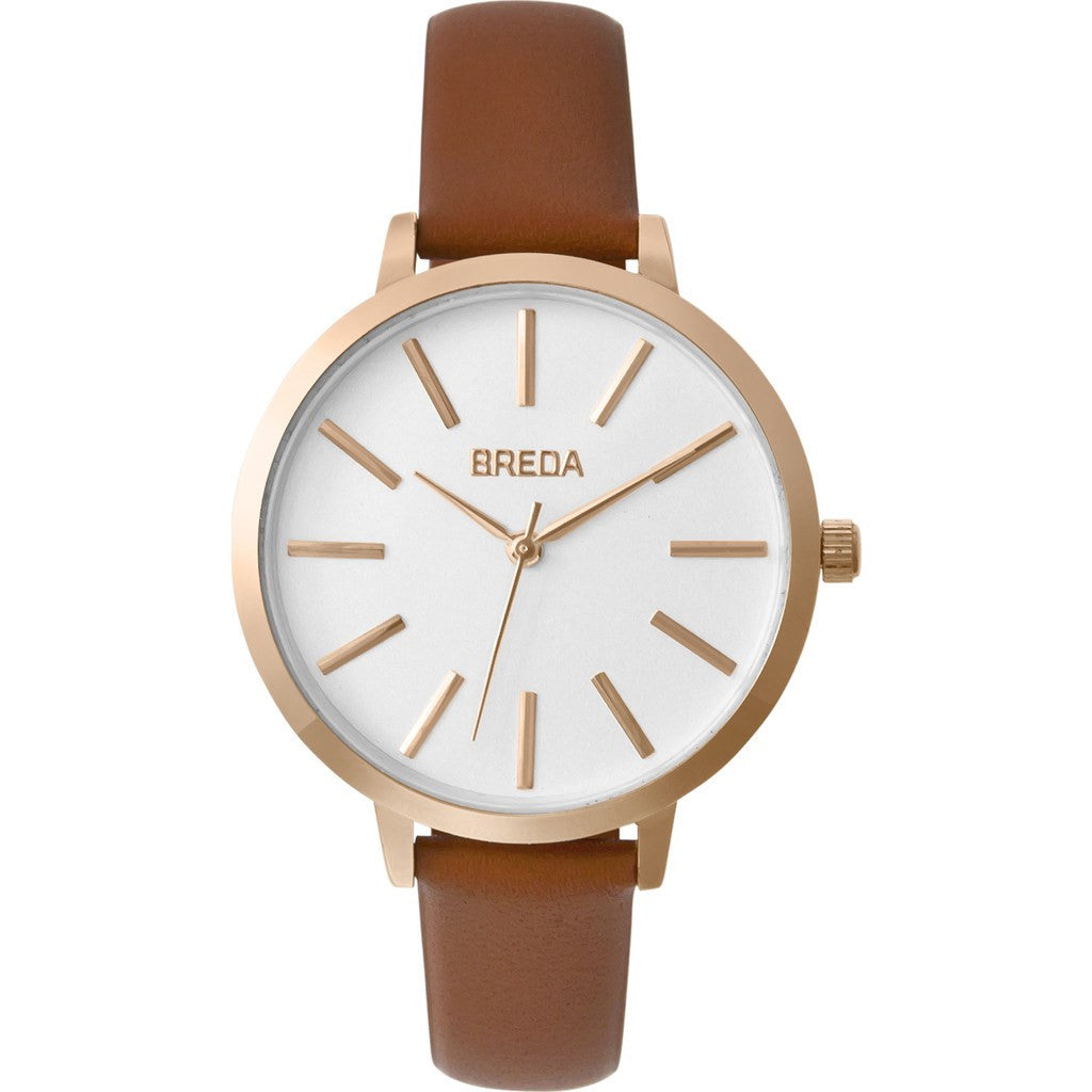 Breda Watches Joule Watch | Rose Gold/Brown 1722b