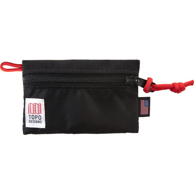 Topo Designs Micro Accessory Bags | Black