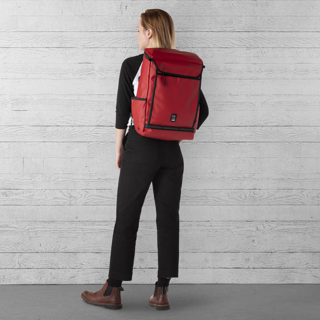 Chrome Volcan Backpack | 31L Red BG-260-RDTP-NA