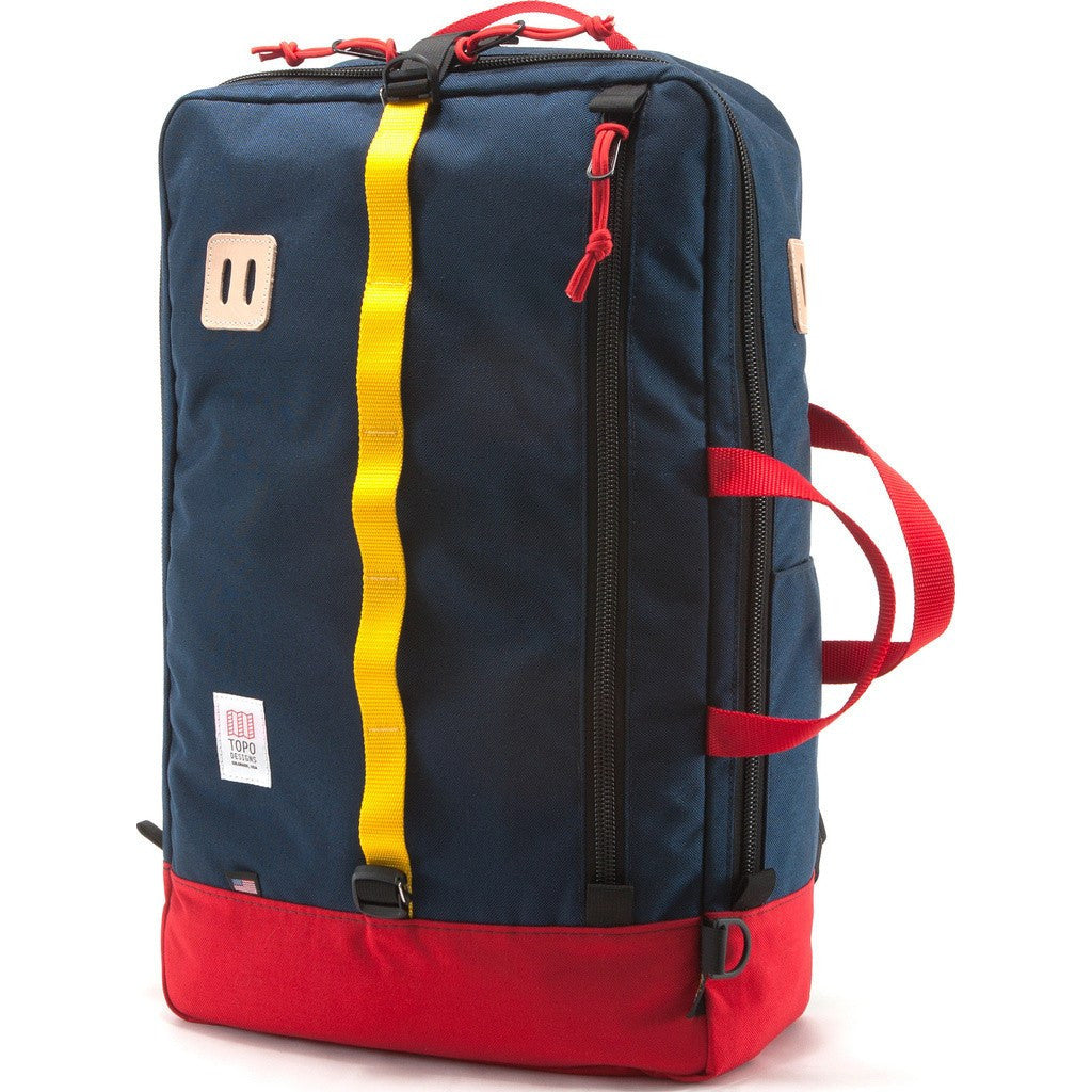 Topo Designs Travel Bag Backpack | Red/Navy