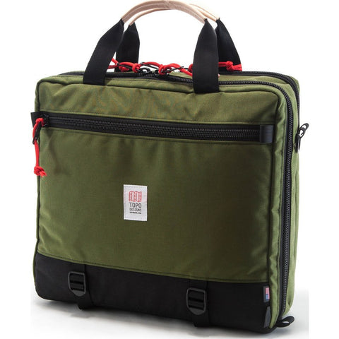 Topo Designs 3-Day Briefcase | Black/Olive