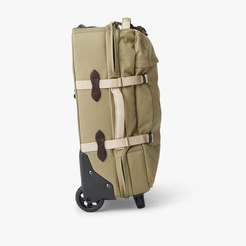 Filson Ducks Unlimited Dryden 2-Wheel Carry On Bag | Dry Grass