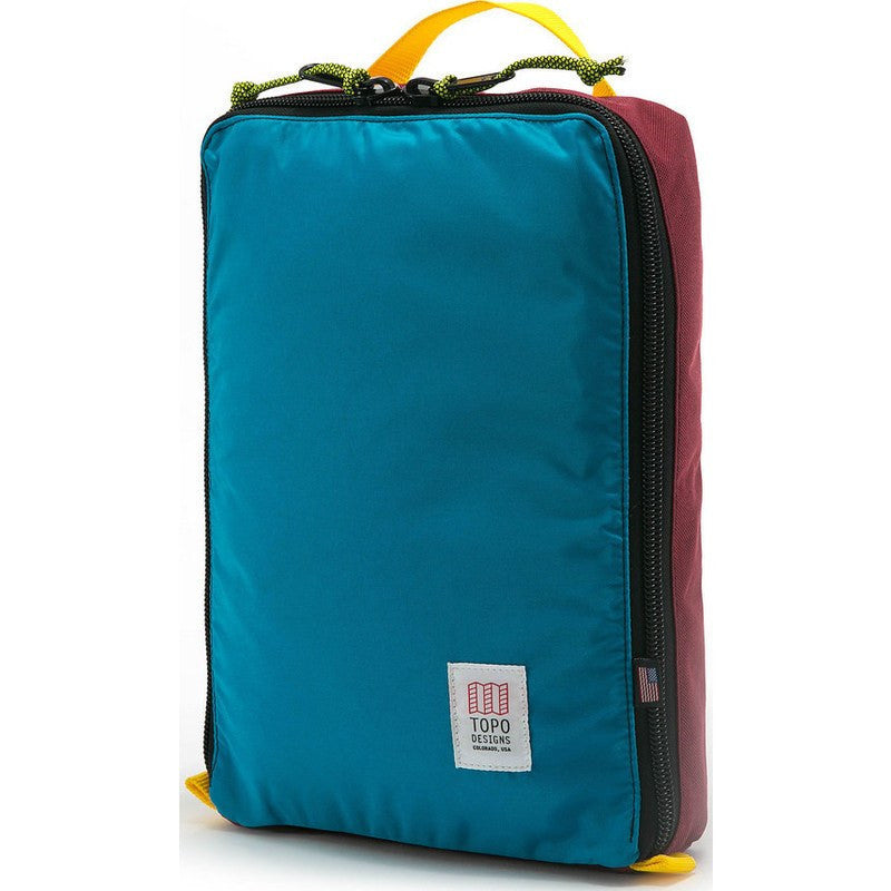Topo Designs Pack Bag | Burgundy/Aqua
