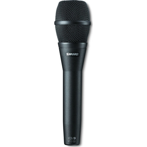 Shure KSM9/CG Dual Pattern Condenser Handheld Vocal Microphone | Charcoal