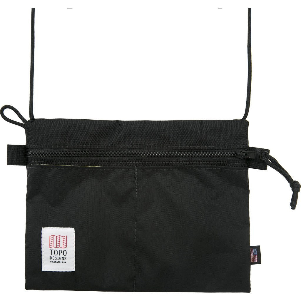 Topo Designs Accessory Shoulder Bag | Black