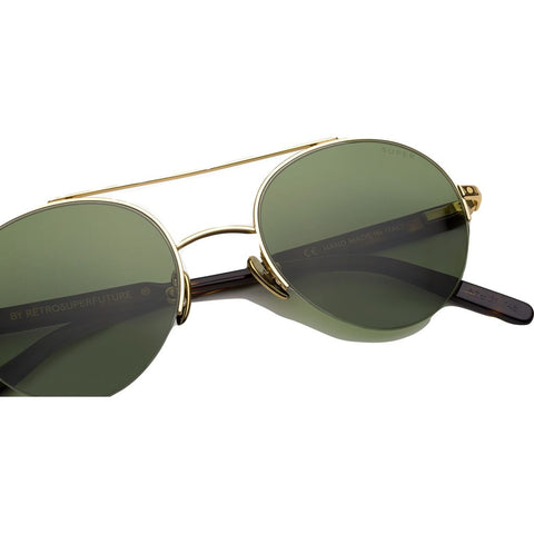 RetroSuperFuture Cooper 3627 Sunglasses | Green