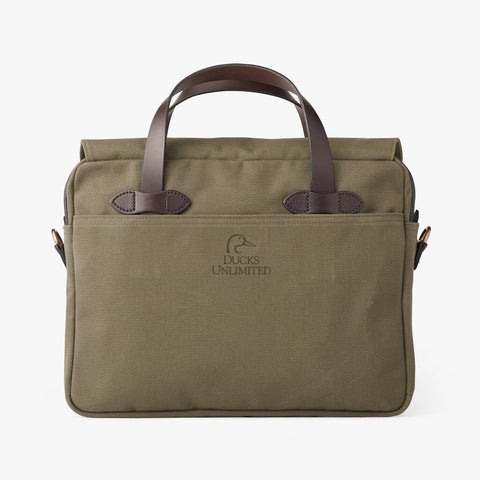 Filson Ducks Unlimited Original Briefcase | Otter Green