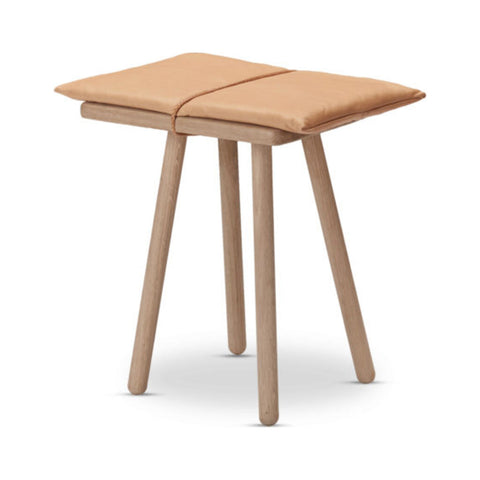 Skagerak Georg Jubilee Stool | Leather Oak