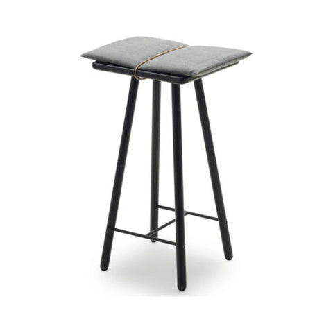 Skagerak Georg Low Bar Stool | Wood