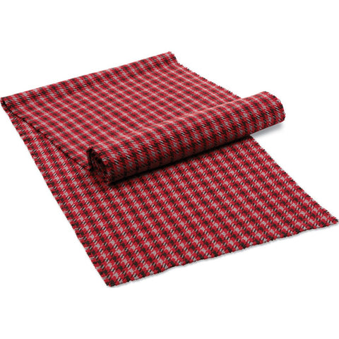 Faribault Dawson Plaid Table Runner | Carbon 19324 19x90