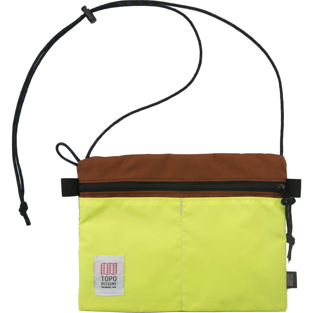 Topo Designs Accessory Shoulder Bag | Clay/Yellow