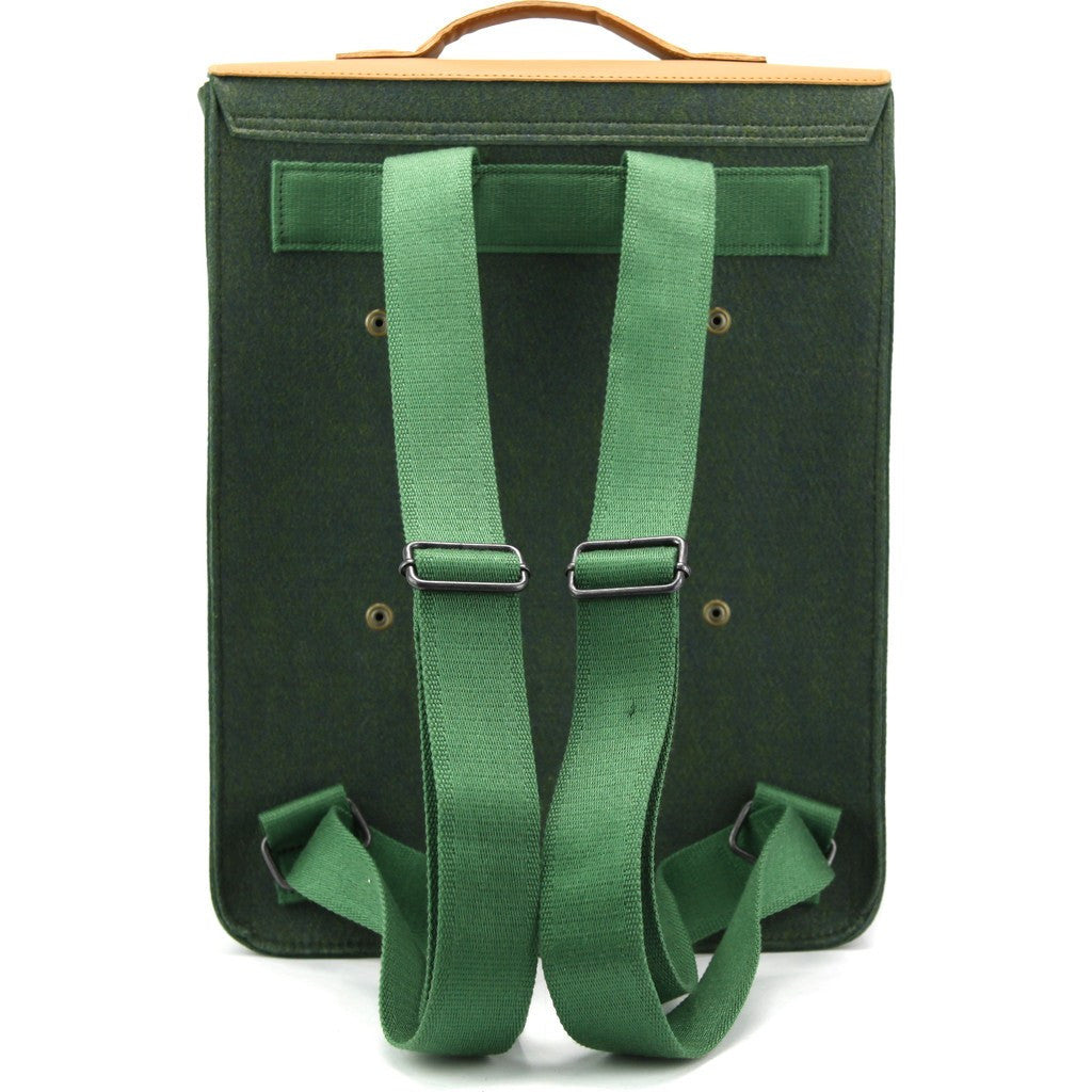 M.R.K.T. Kendrick Backpack | Midnight Green/Coffee Brown 198041D