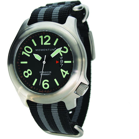 Momentum Steelix Field Watch | Black/Black