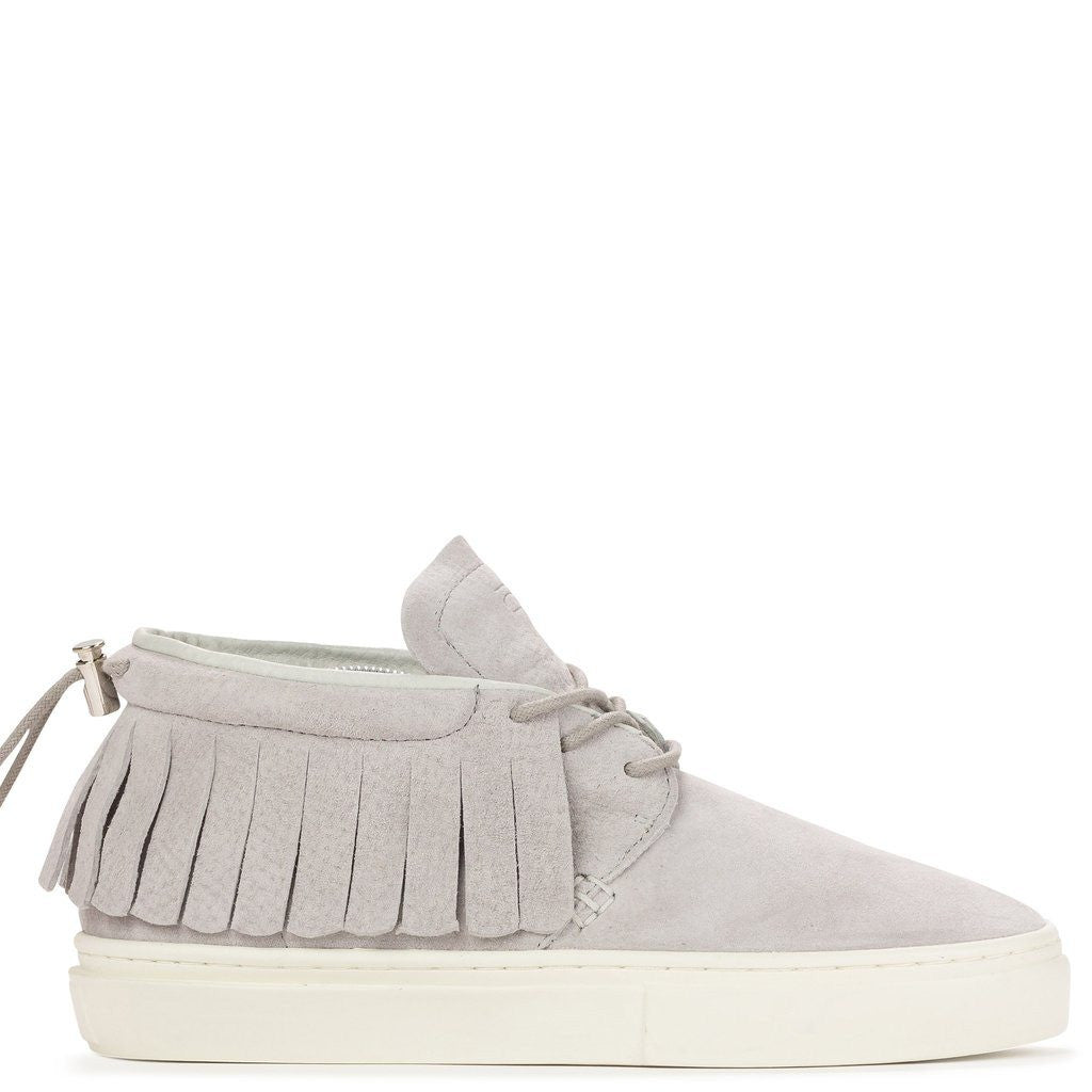 Clear Weather One-O-One Chukka Moccasins | Vapor Grey Suede CRW-101-VAP