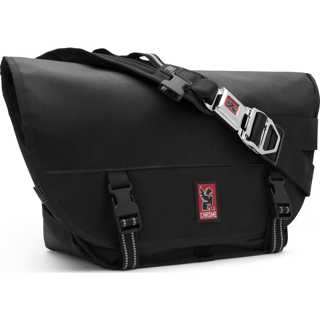 Chrome Mini Metro Messenger Bag | Black/Black BG-001