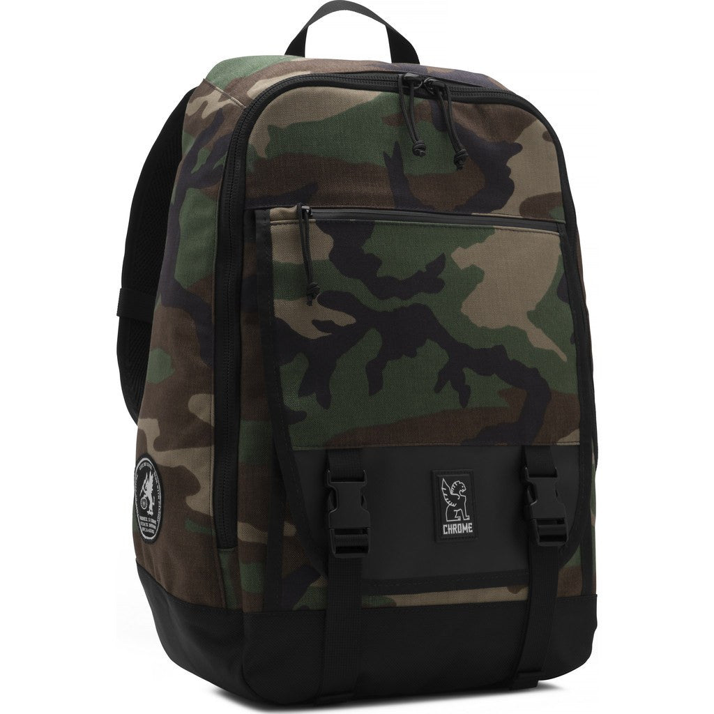 Chrome Fortnight Backpack | Woodland Camo BG-141-CAMO
