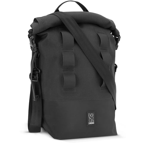 Chrome Urban Ex Pannier Backpack | Black/Black