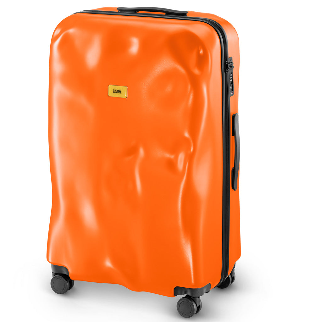 Crash Baggage Icon Trolley Suitcase - Orange