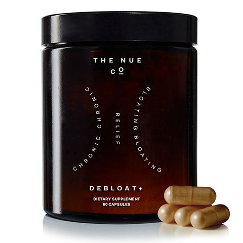 The Nue Co. Debloat+ Dietary Supplement | 60 Capsules