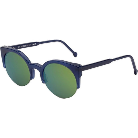 RetroSuperFuture Lucia Sunglasses | Deep Blue 0MF