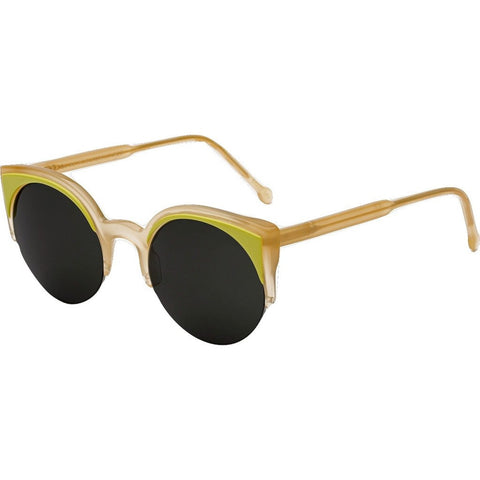 RetroSuperFuture Lucia Sunglasses | Surface Lime BS4
