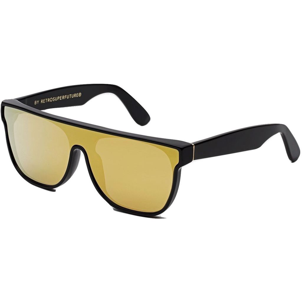 RetroSuperFuture Flat Top Forma Sunglasses | Gold QJU