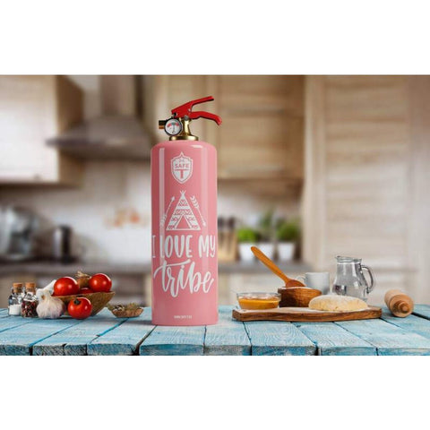 Safe-T Designer Fire Extinguisher | Love Life - Tribe