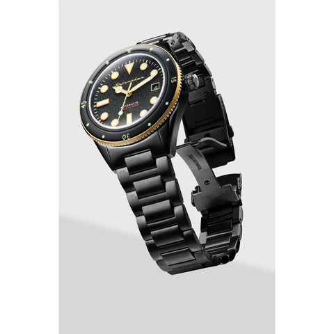 Spinnaker Cahill - Mid Size SP-5075-33 Automatic Watch | Black/Ionic