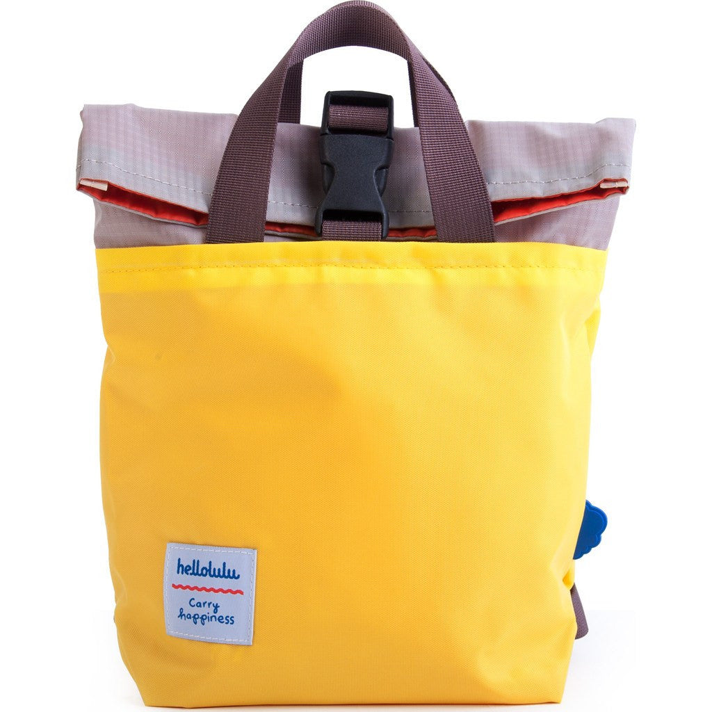 Hellolulu Kid's Jazper Rolltop Backpack | Yellow/Grey HLL-20001-YLW