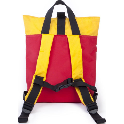 Hellolulu Kid's Jazper Rolltop Backpack | Red/Yellow HLL-20001-RED