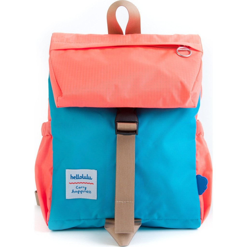 Hellolulu Kid's Linus Outdoor Backpack | Sky Blue/Orange HLL-20002-SKY