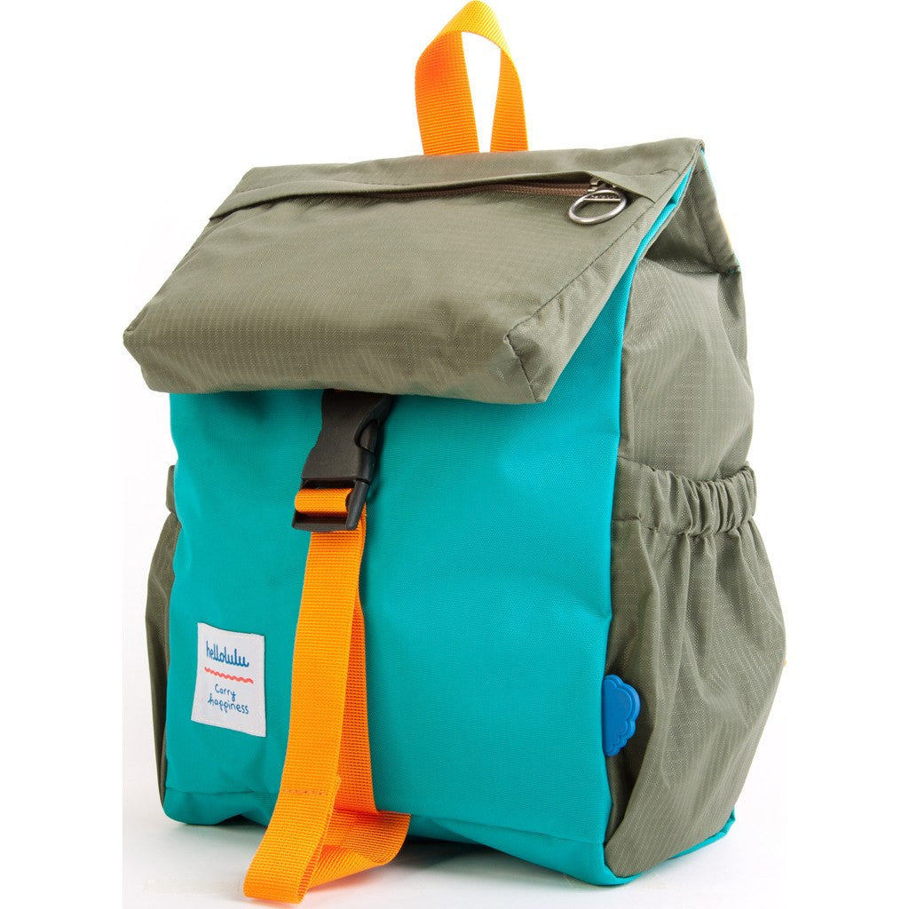 Hellolulu Kid's Linus Outdoor Backpack | Green/Olive HLL-20002-GRN