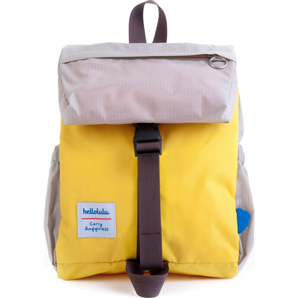 Hellolulu Kid's Linus Outdoor Backpack | Yellow/Grey HLL-20002-YLW