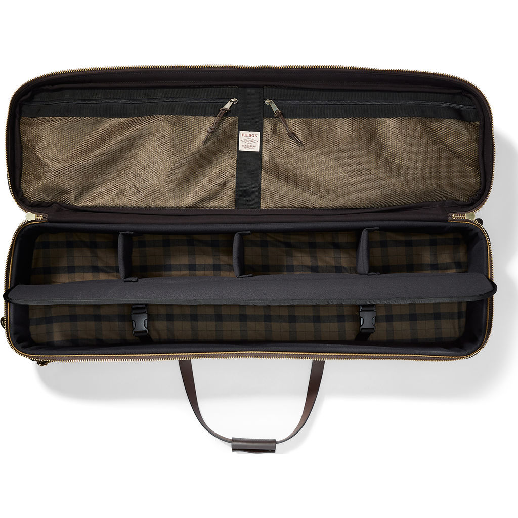 Filson fly fishing rod case tan sportique for Fishing rod cases