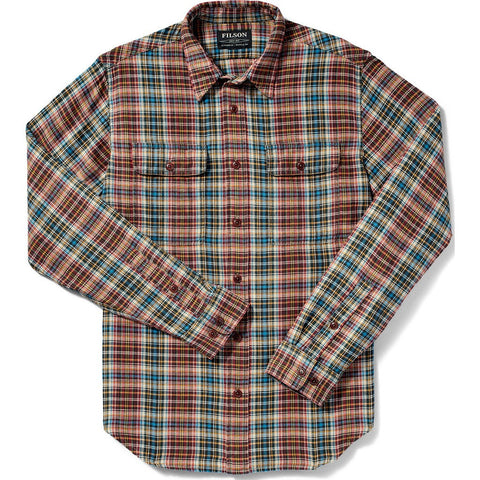 Filson Scout Shirt | Black/Red/Cream Plaid 20002860 L