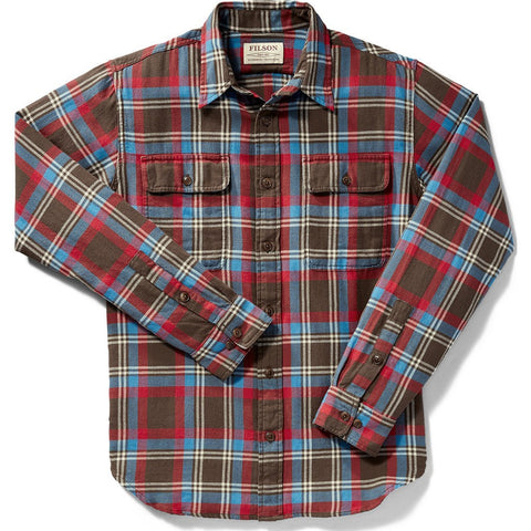 Filson Scout Shirt | Brown/Blue/Cream Plaid 20002860 XS