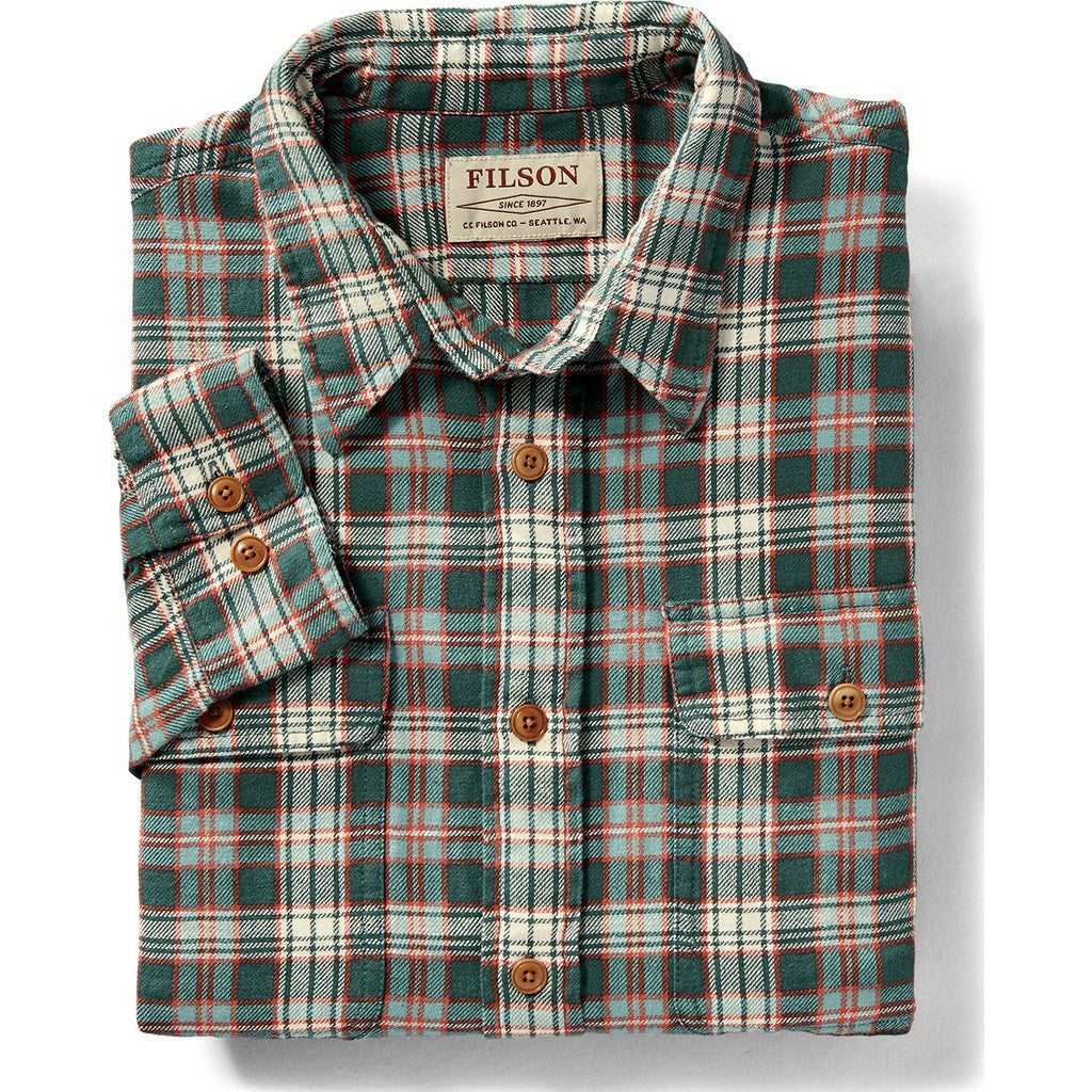 Filson Scout Shirt | Mallard/Red/Cream Plaid 20002860 L