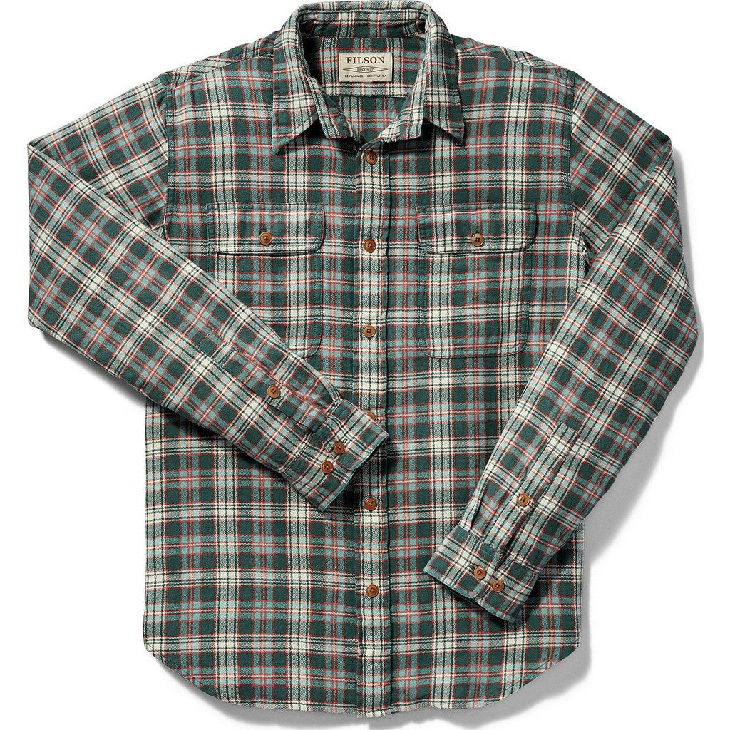 Filson Scout Shirt | Mallard/Red/Cream Plaid 20002860 M