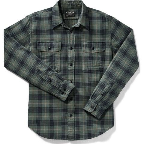 Filson Scout Shirt | Teal/Navy/Bronze Plaid 20002860 L