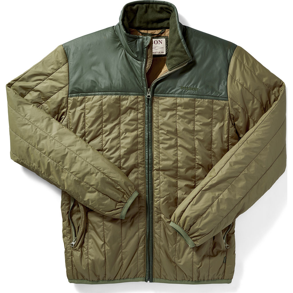 Filson Ultra Light Quilted Jacket Field Olive Sportique