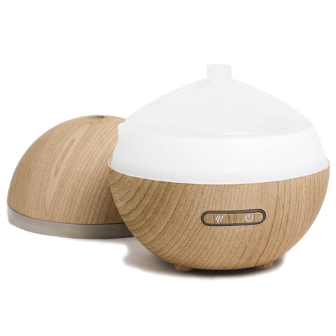 ACDC Candle Co. Sphere Ultrasonic Aroma Diffuser | Wood Grain 2000469