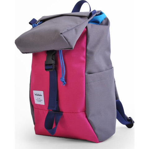 Hellolulu Kid's Mini Sutton Drawstring Backpack | Pink/Dark Grey HLL-20007-PNK