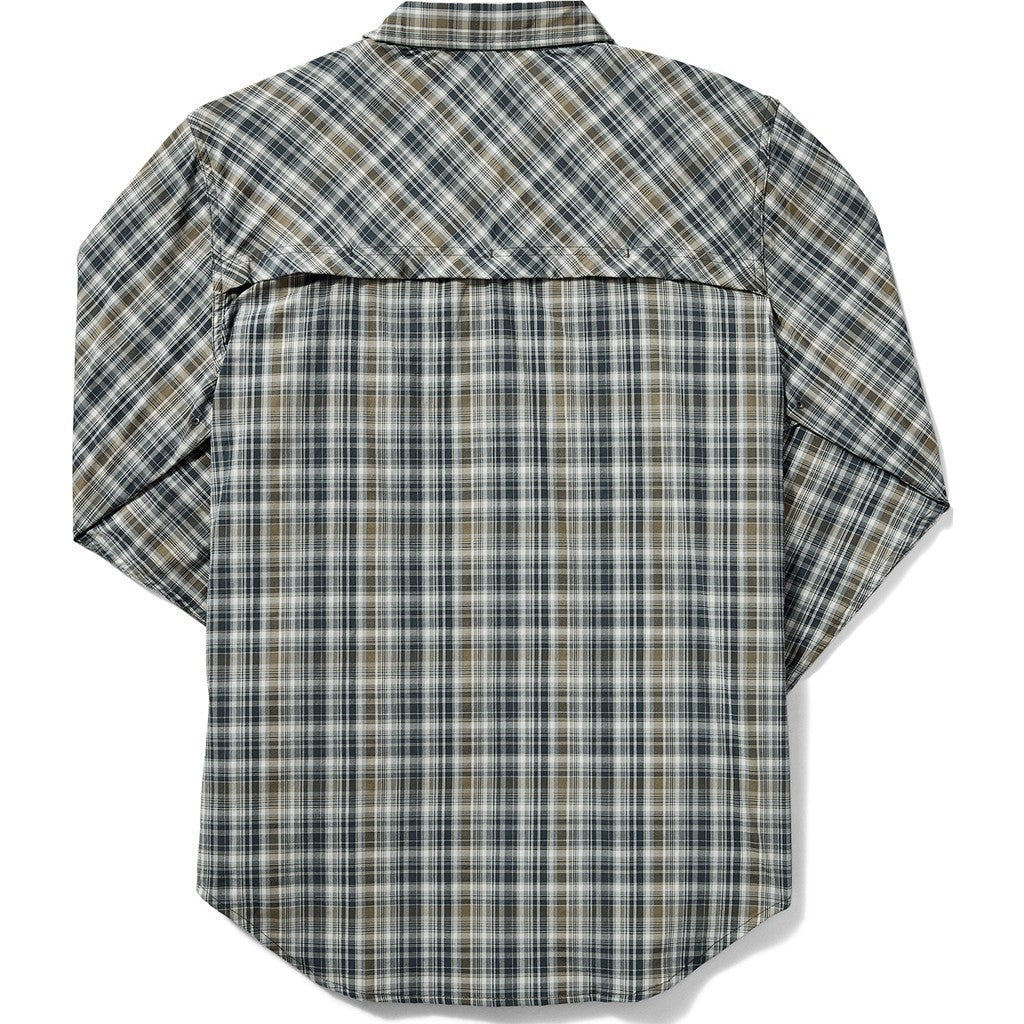 Filson Twin Lakes Sports Shirt | Navy/White/Olive Plaid 20008231 L