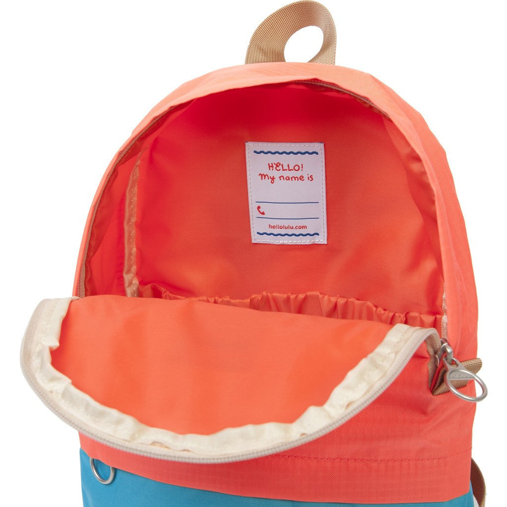 Hellolulu Pili Kids Backpack | Sky Blue/Orange HLL-20009-SKY