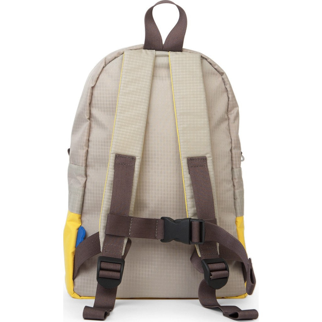 Hellolulu Pili Kids Backpack | Yellow/Grey HLL-20009-YLW
