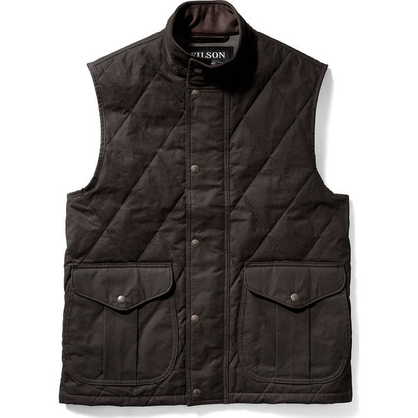 Filson Quilted Polson Vest In Coyote Brown Sportique