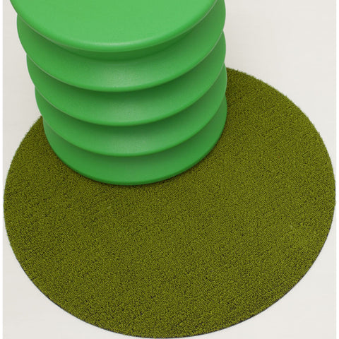 Chilewich Solid Shag Dots 24 | Green - 200387-004